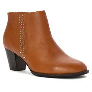 Vionic Womens Leather Georgia Ankle Boot sz 10